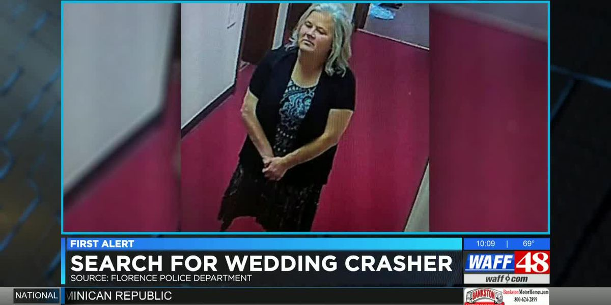 Florence police searching for wedding crasher after items disappear