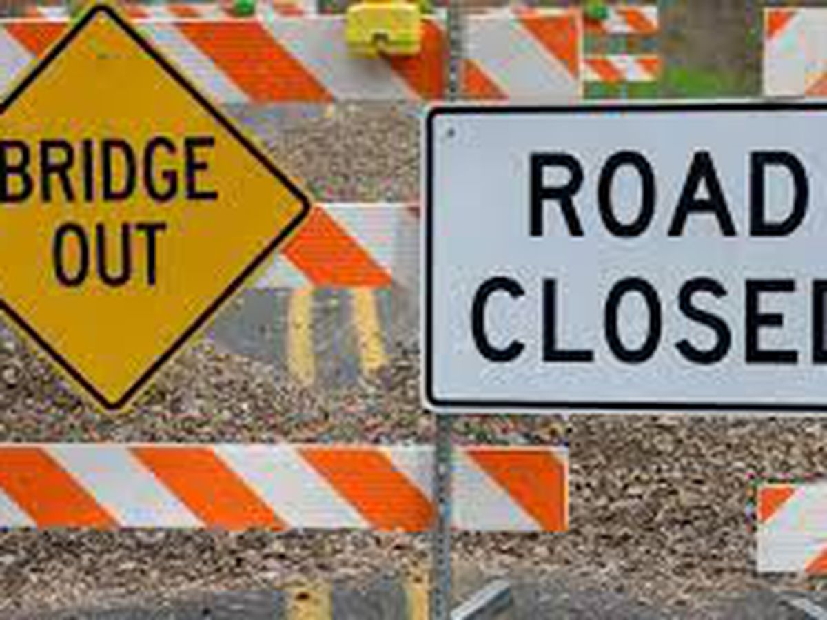 Black Road closed for I-65 bridge work