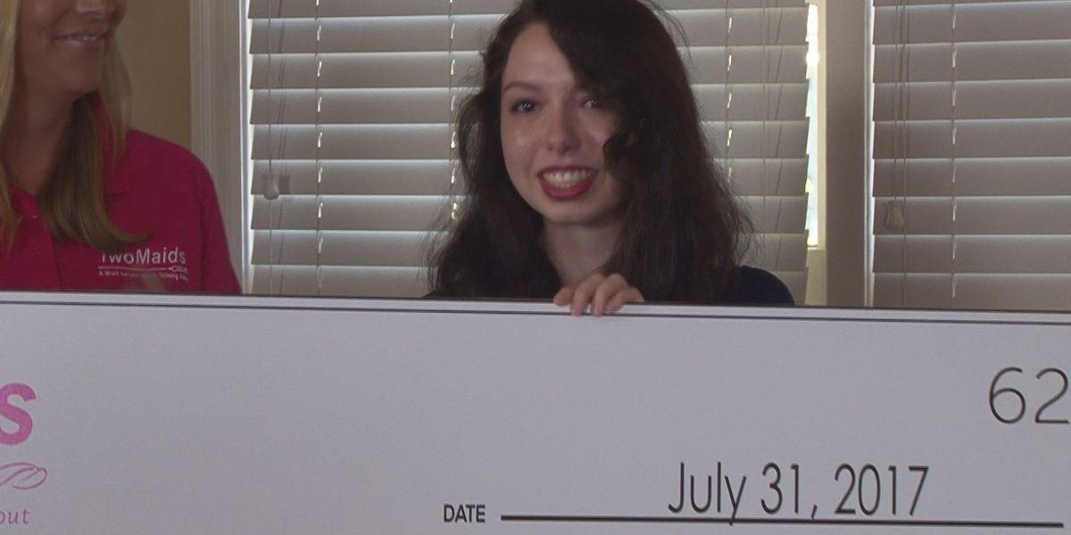 Huntsville college student wins scholarship