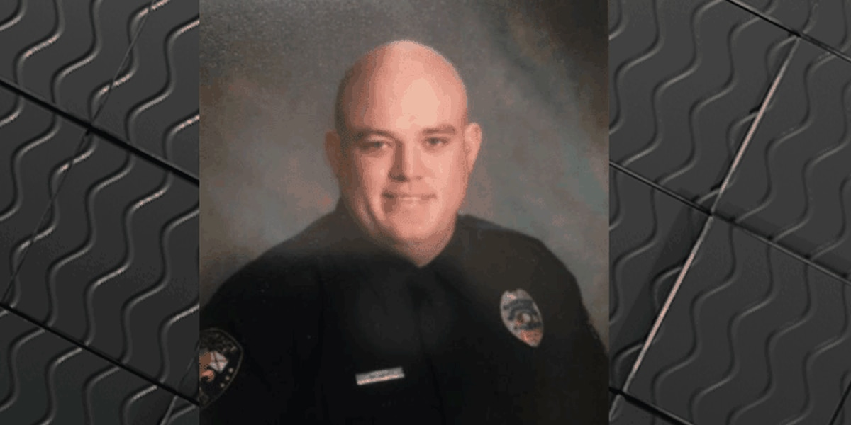 Police officer saves his own life