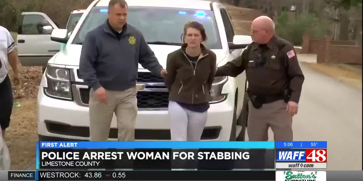 Athens woman charged with stabbing boyfriend in stomach