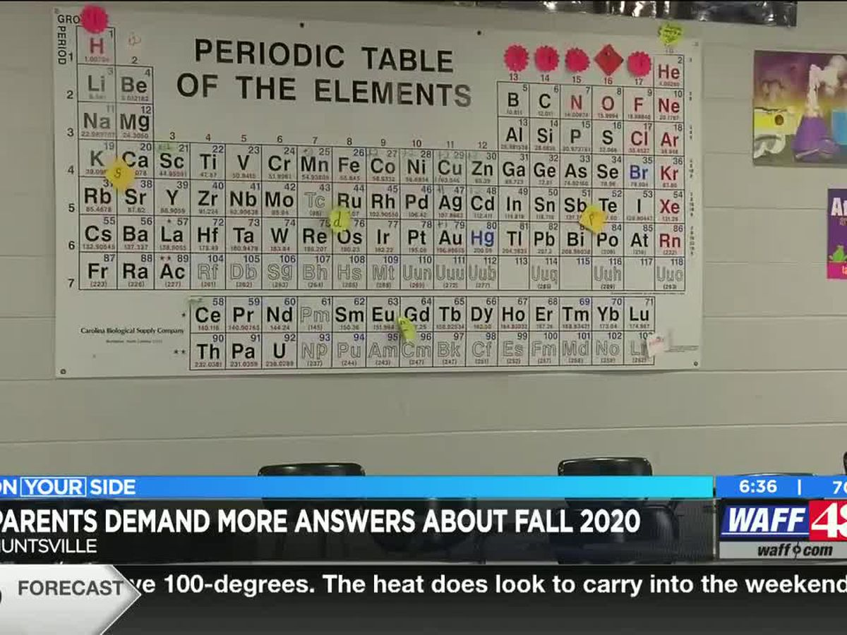 Parents demand more answers about Fall 2020