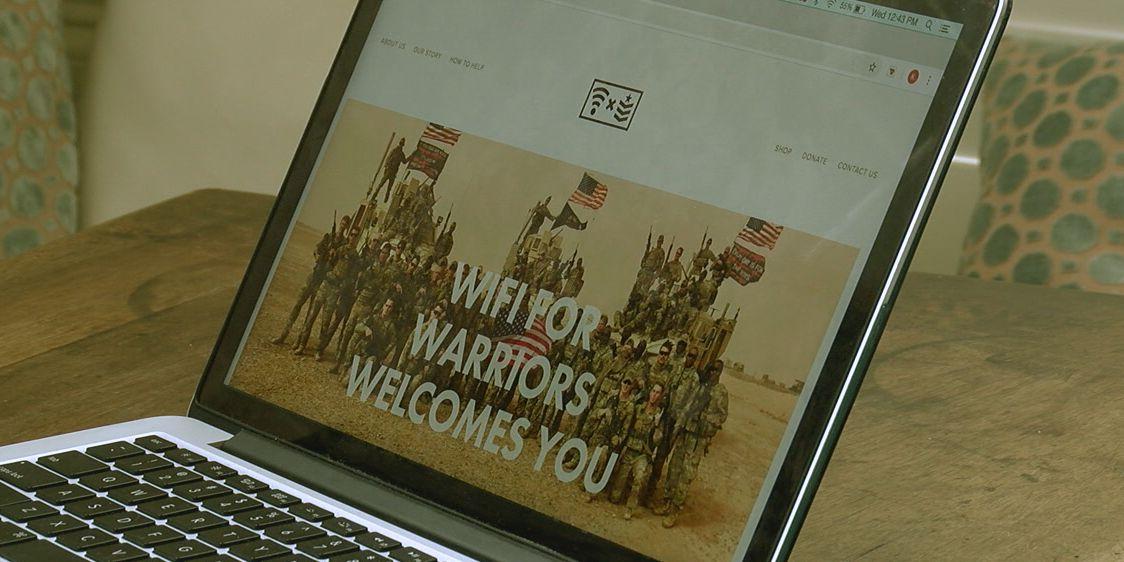 Family raising money so soldiers can afford Wi-Fi