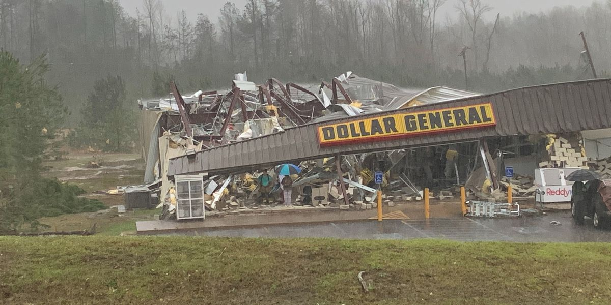 Cleanup begins in northeast Mississippi after Tuesday's tornado