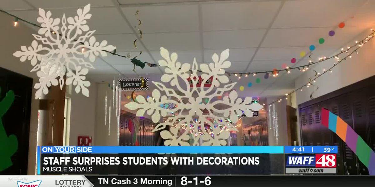 Christmas spirit fills the halls of one Shoals school