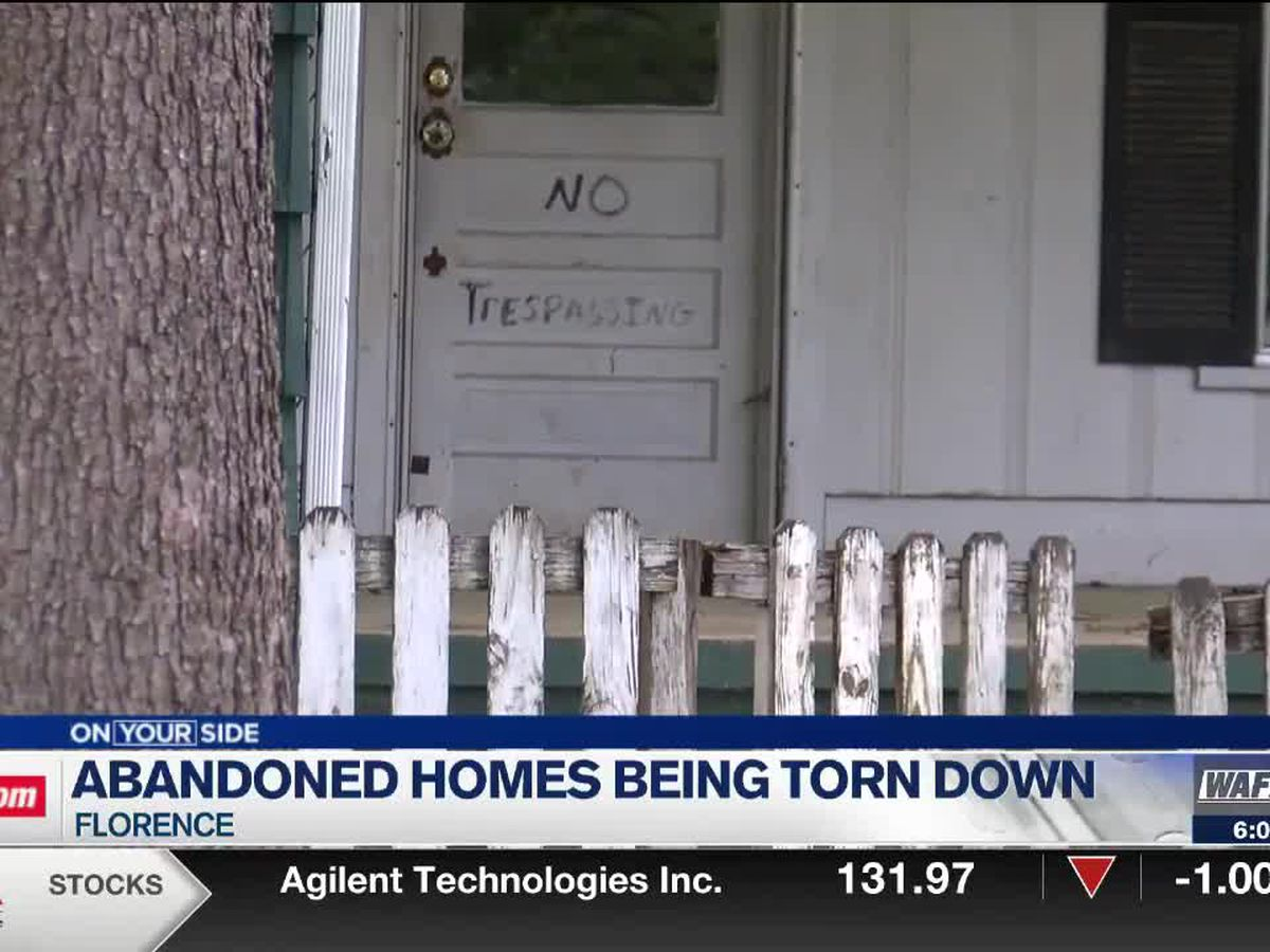 Demolishing abandoned homes can be a complicated process