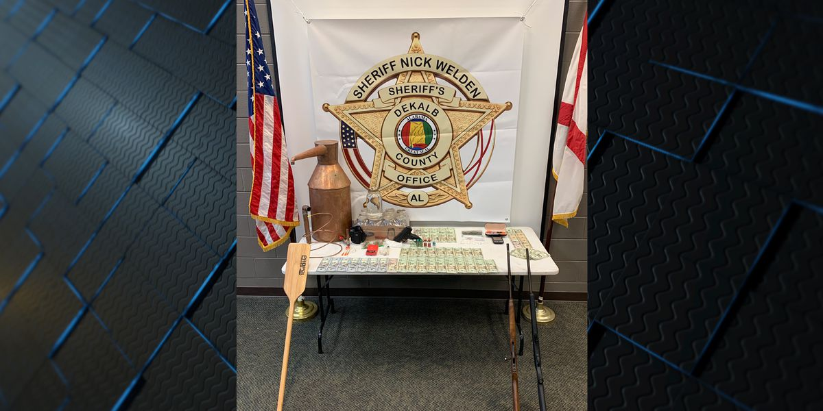Moonshine still, meth, steroids seized in DeKalb County