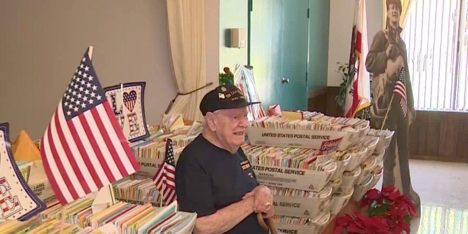 WWII veteran receives thousands of birthday cards from all 50 states, 10 countries