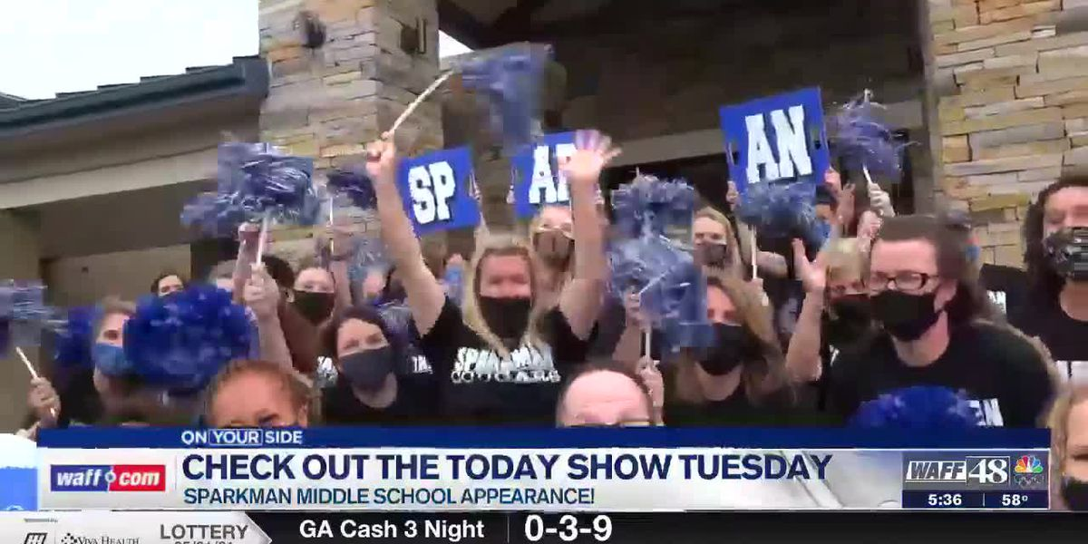 Sparkman Middle School makes special Today Show appearance