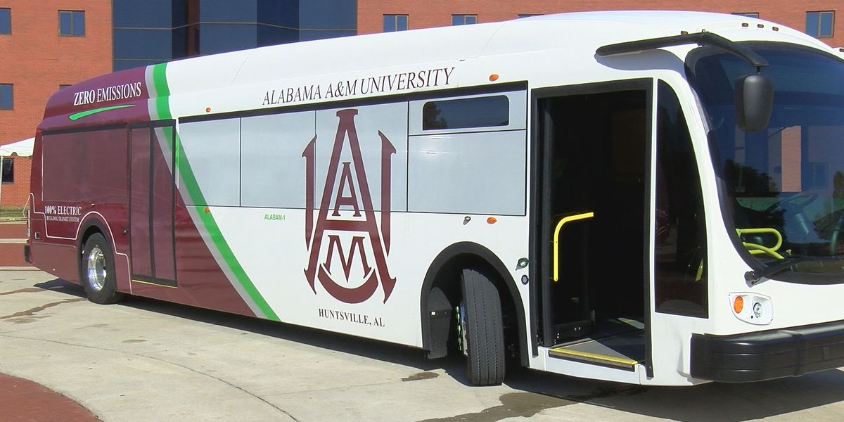 AAMU receives FTA grant for more zero-emission electric buses