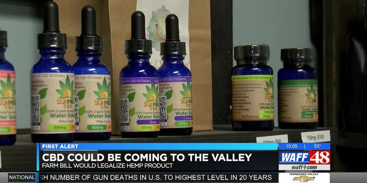 Farm bill would bring CBD to Alabama patients, businesses
