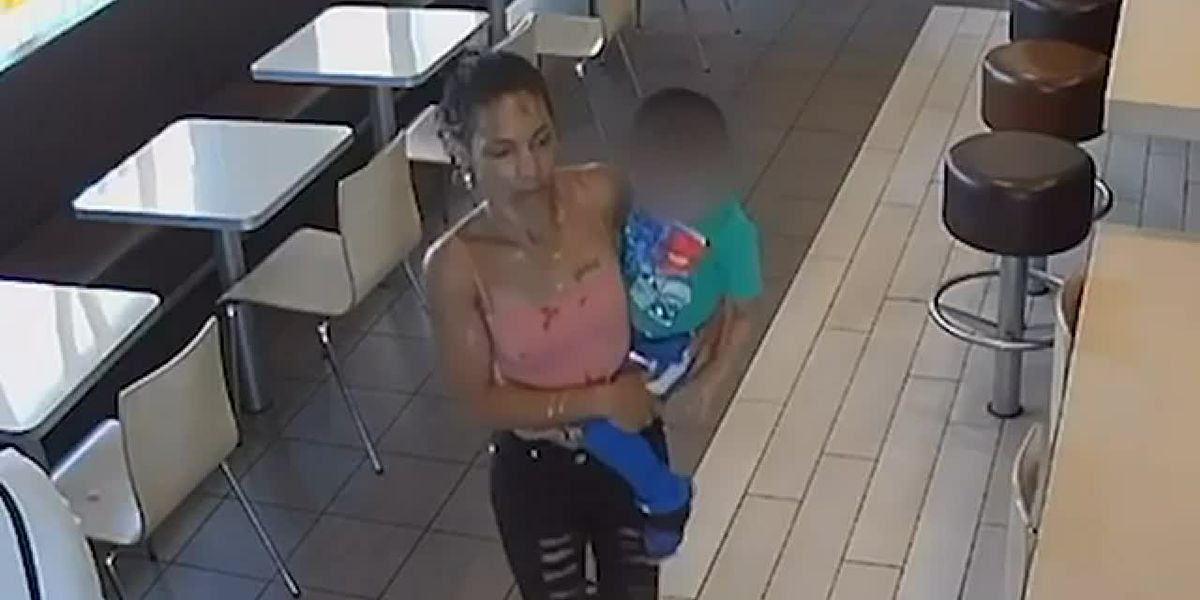 Woman scoops up 4-year-old boy at CA McDonald's
