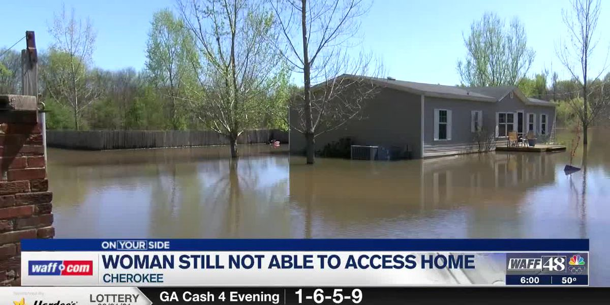 After two weeks, Cherokee home has more flooding, no power