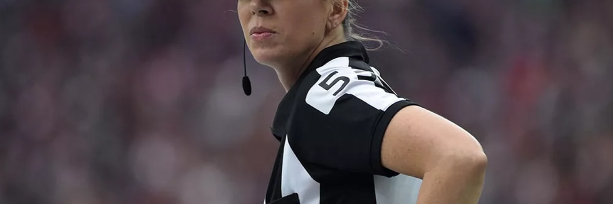 Sarah Thomas will be first female to officiate NFL playoff game