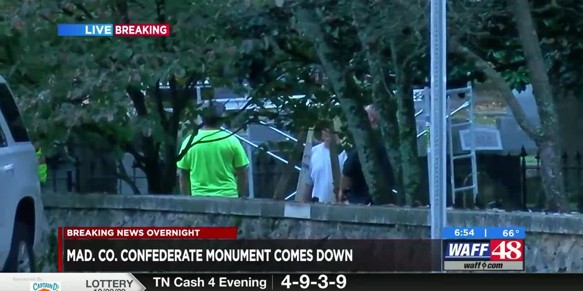 Placing the Madison County Confederate monument at Maple Hill