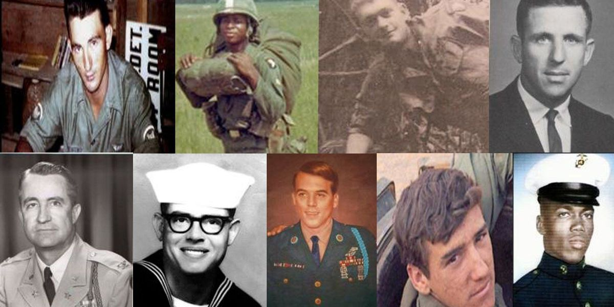 """Photos of veterans being collected for """"Wall of Faces"""" project"""