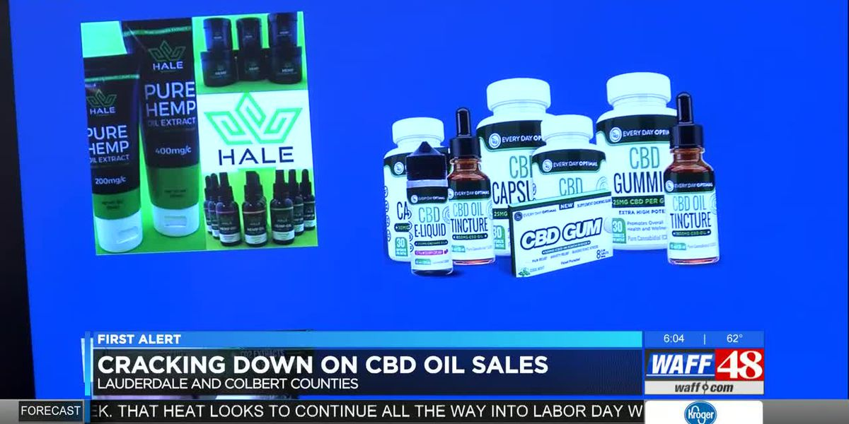 Shoals authorities cracking down on CBD oil sales