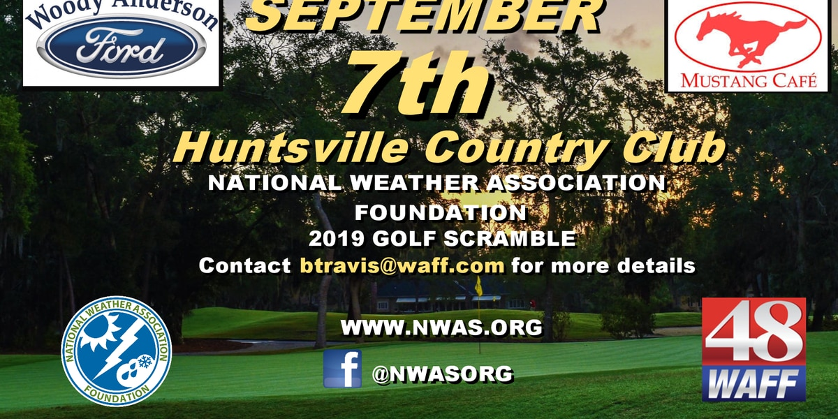 Public golf tournament at National Weather Association conference in Huntsville