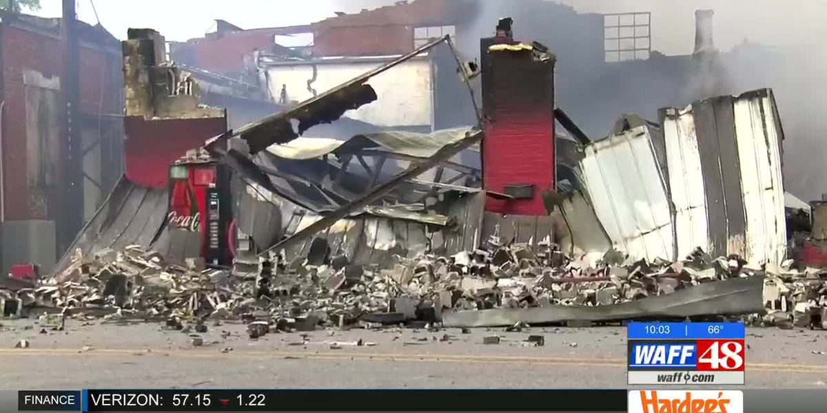 Moulton's Court Street Grill owner vows to rebuild fire-destroyed restaurant