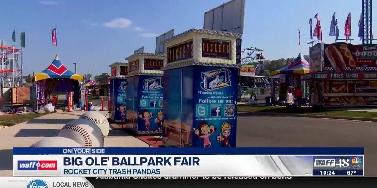 Big Ole' Ballpark Fair starts Thursday at Toyota Field