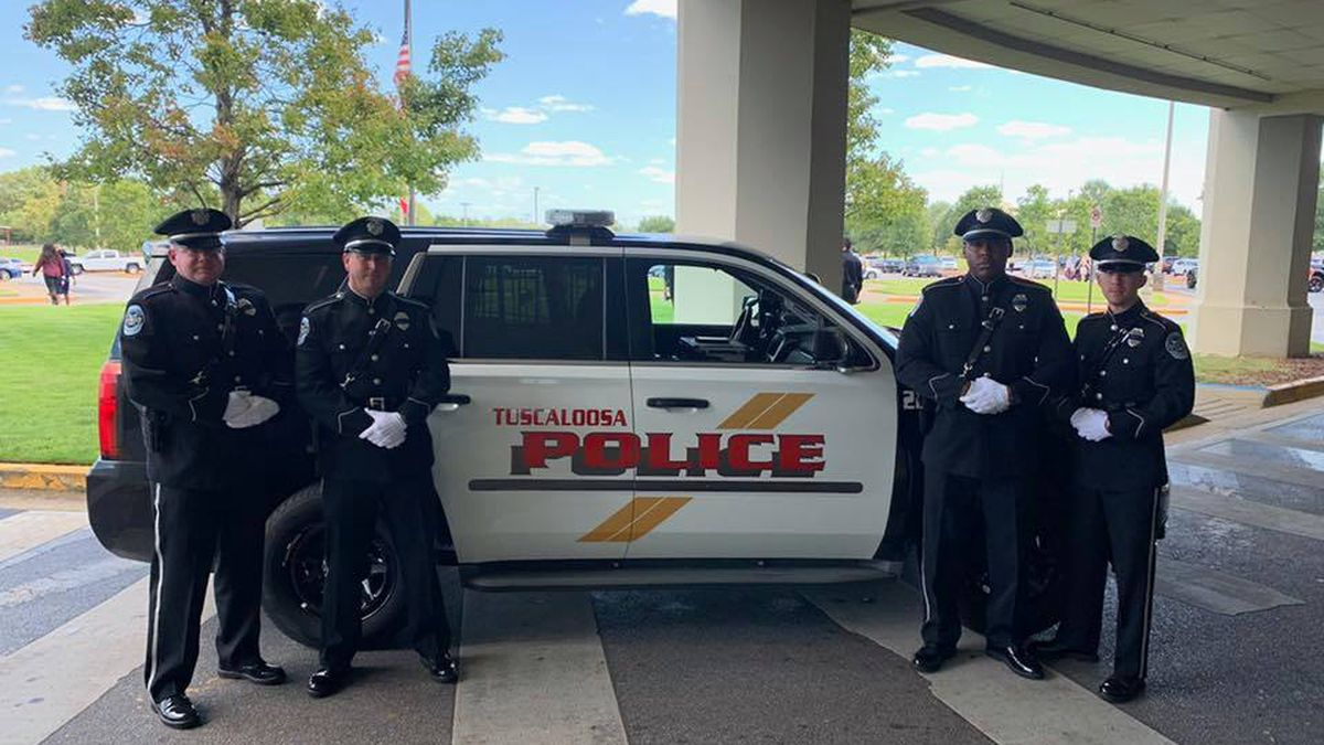 Alabama law enforcement say goodbye to brother in blue