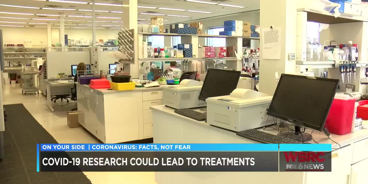 Possible treatment for COVID-19 being developed in Alabama