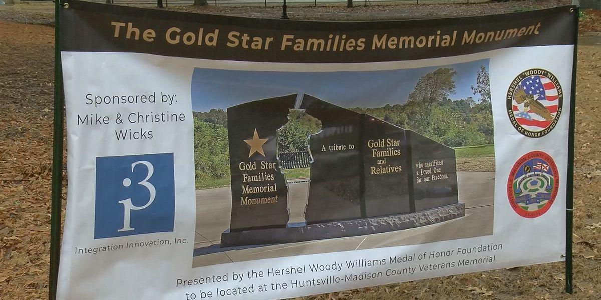 Huntsville Madison County Veterans Memorial adding section for Gold Star families