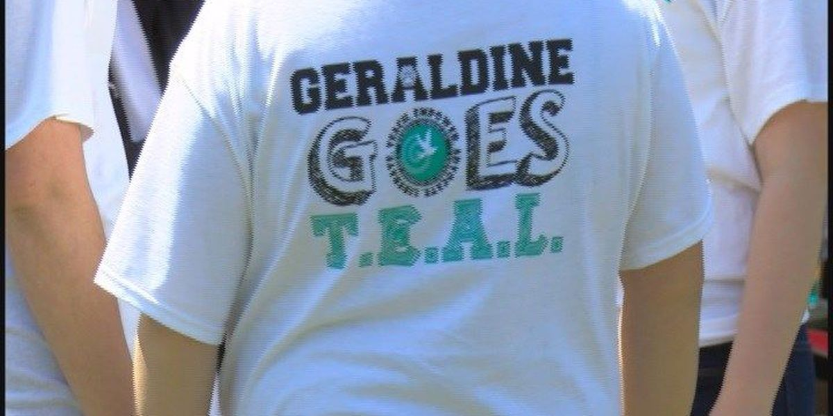 Geraldine promotes sexual assault awareness