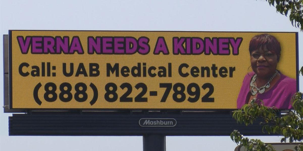 Montgomery woman's billboards help her find kidney donor