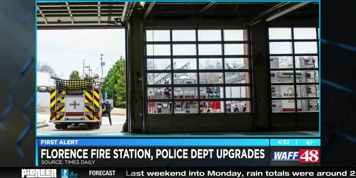 Florence Police Department, Fire Station 1 getting renovations
