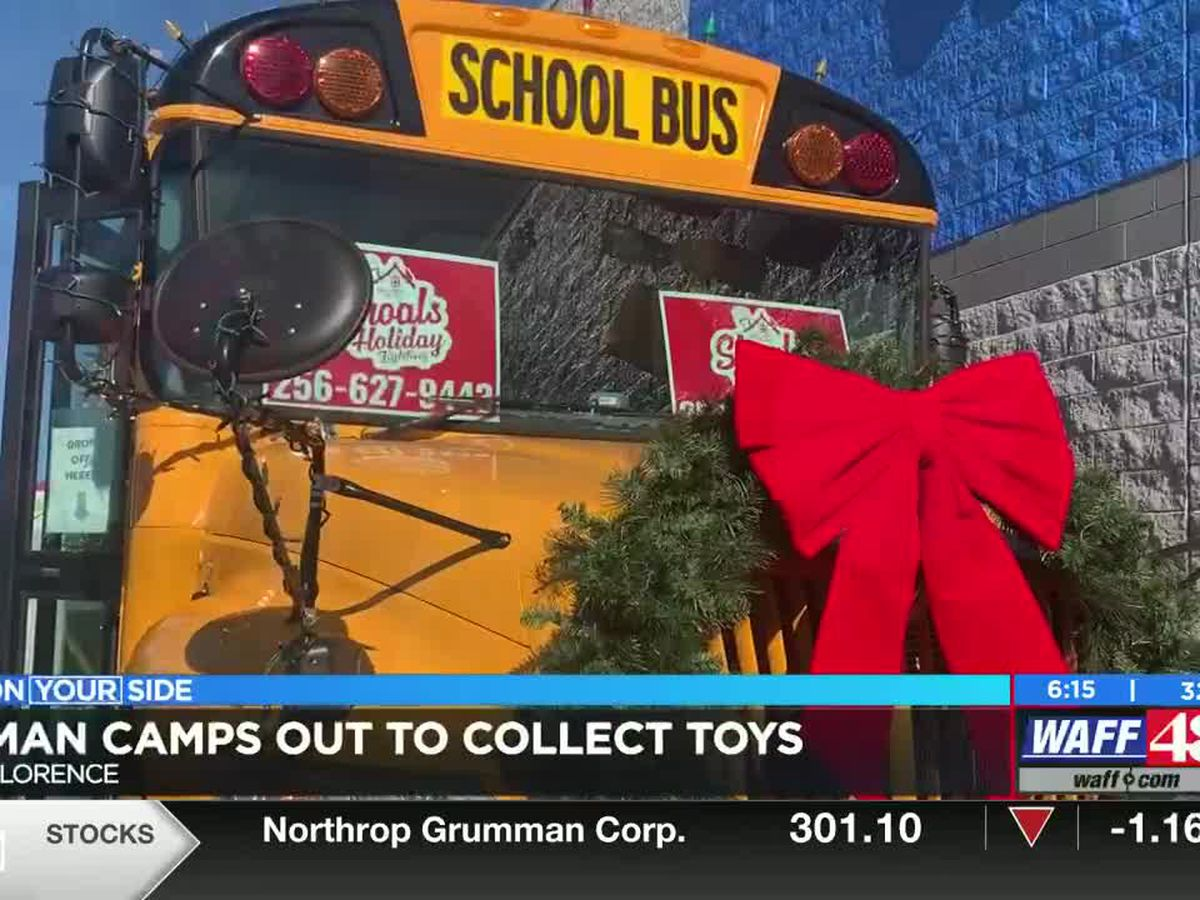 Stuff the Bus toy drive helps Shoals families in need