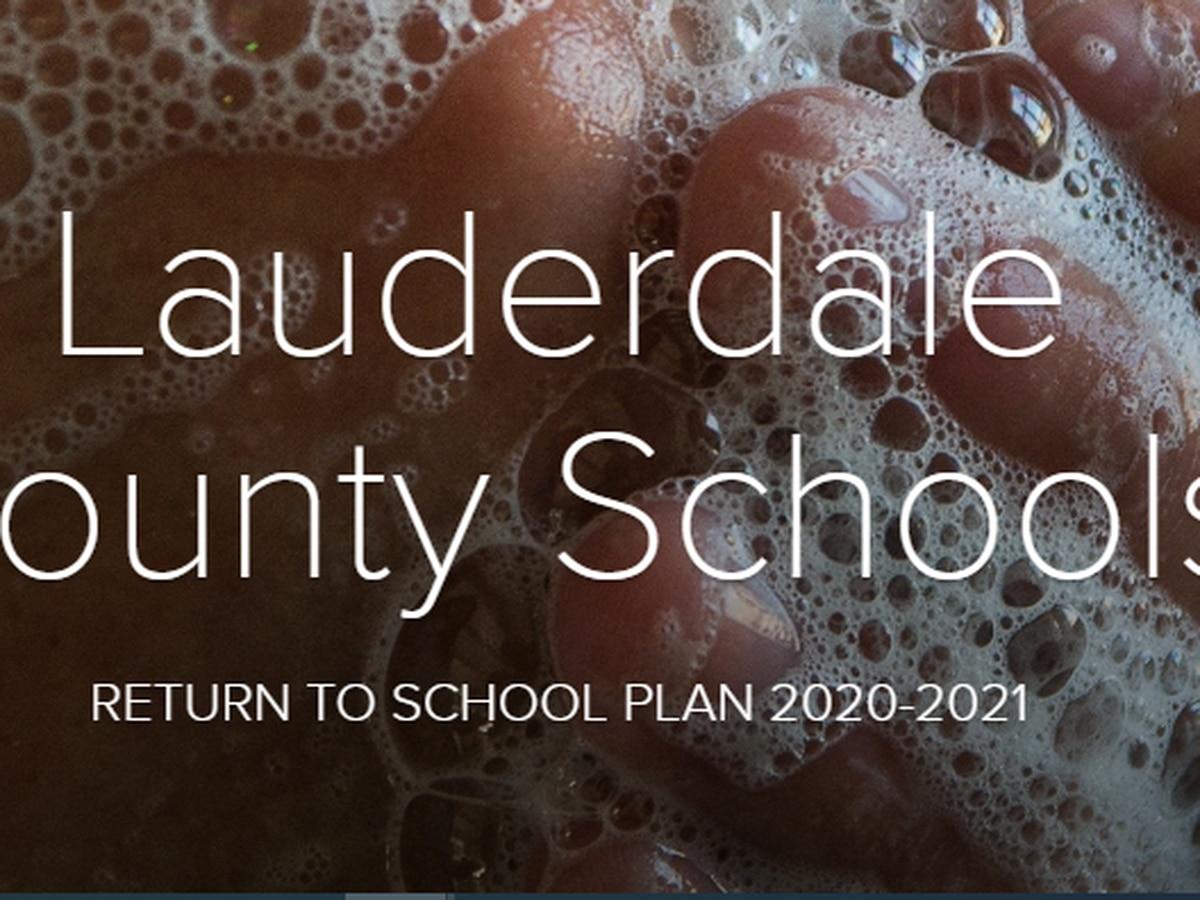 Lauderdale County Schools updated return to school plan