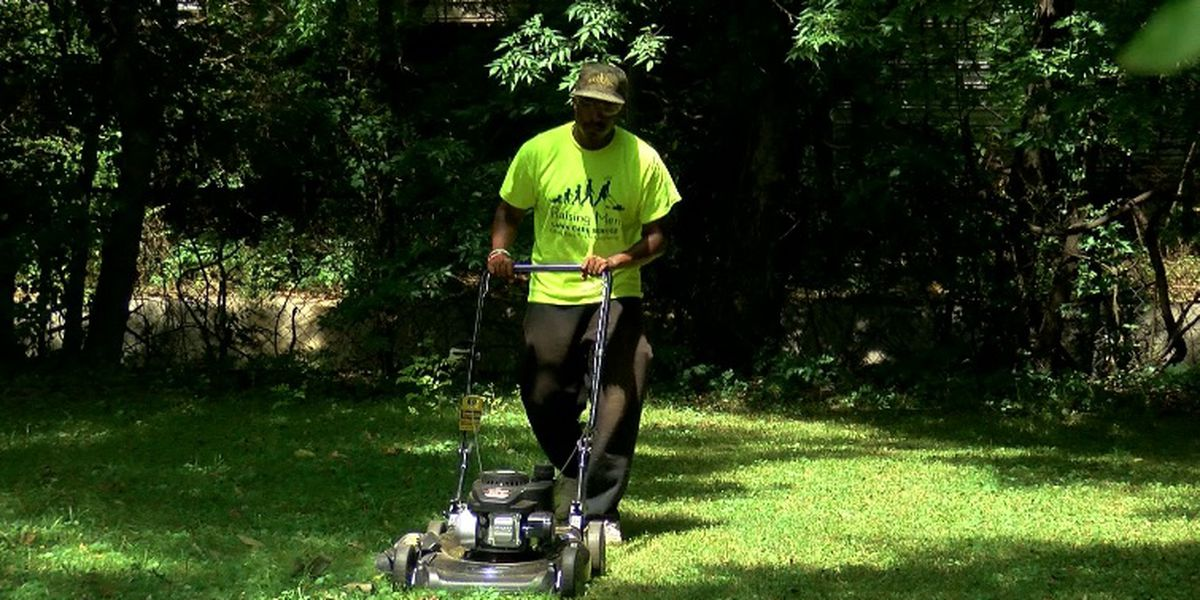 Man who mowed lawns for vets in all 50 states is back in Alabama