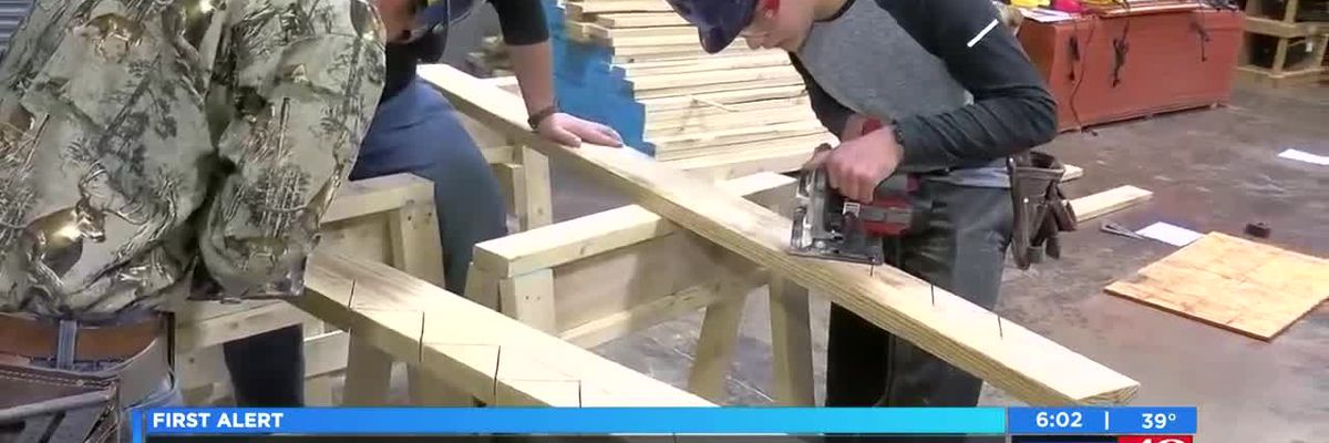 VIDEO: Free home builders school has 440 applicants after one month