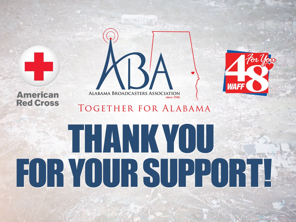 Thank you for your support: 'Together for Alabama' raises over $56K for storm victims