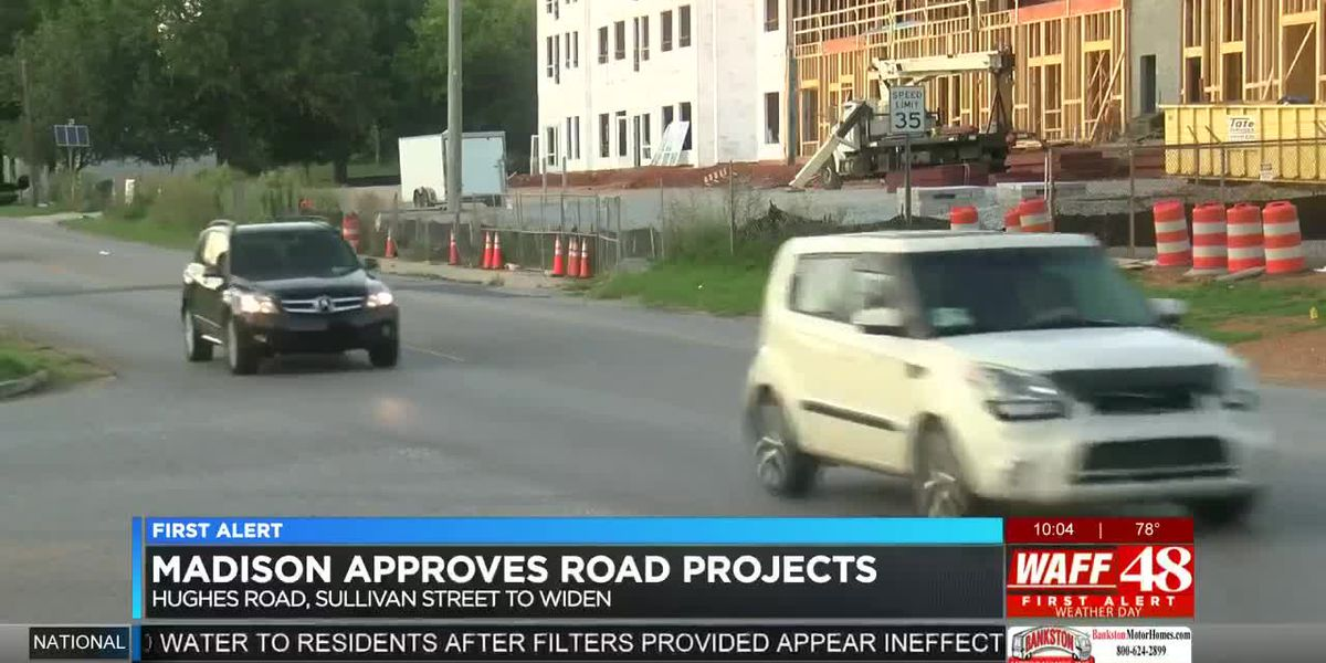 Madison City Council gives road project bids the green light