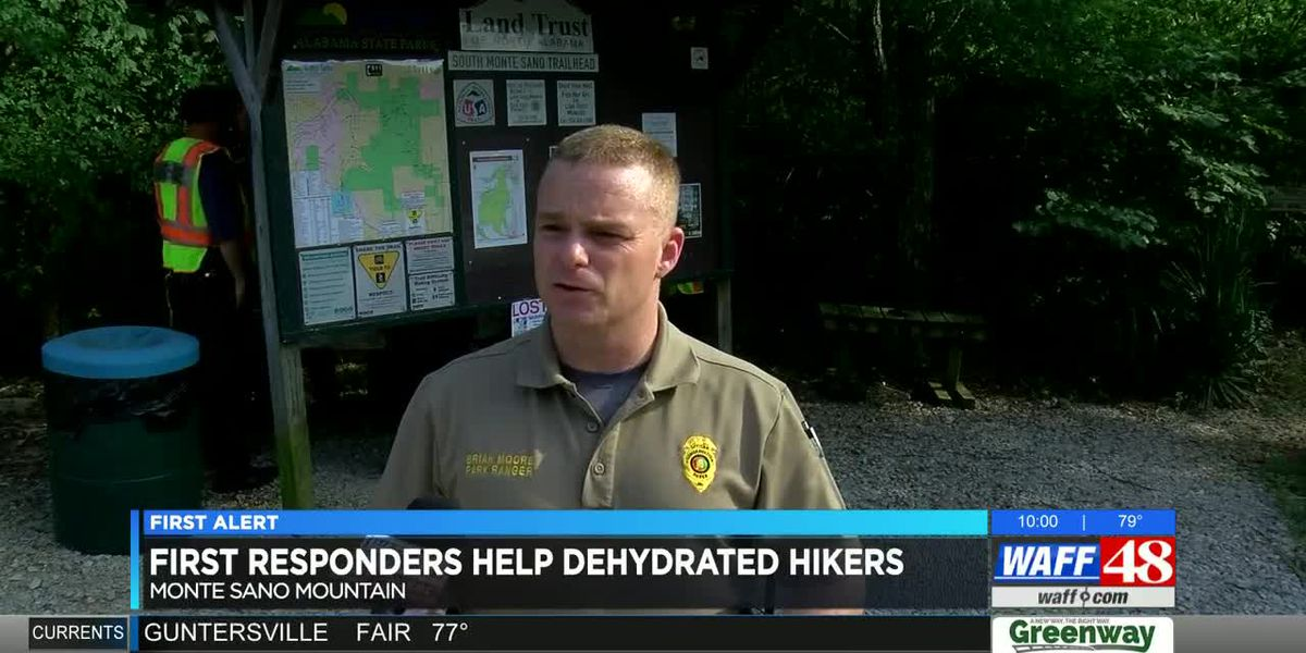 Dehydrated hikers rescued on Monte Sano Mountain