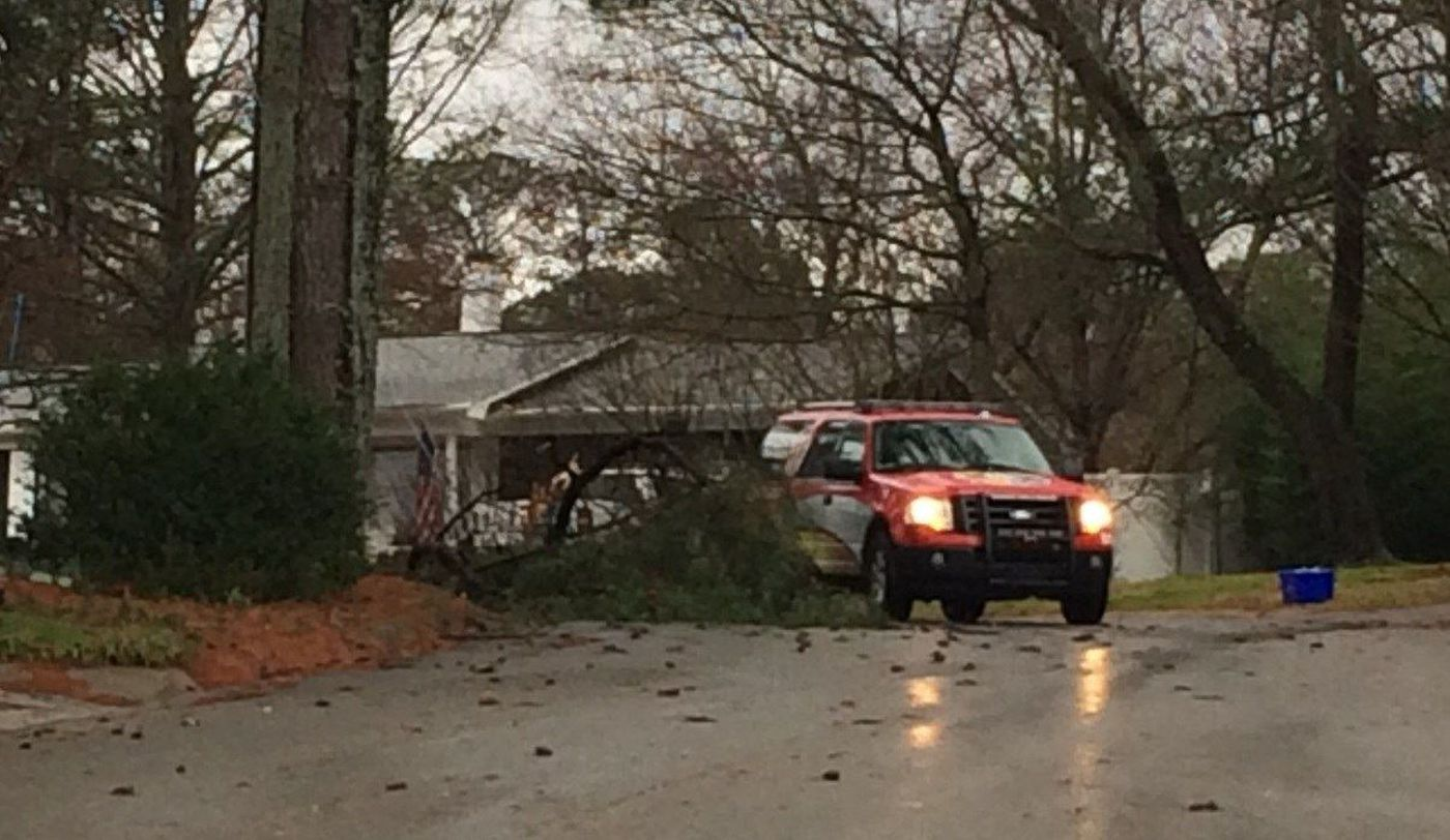Outages, damages and road closures due to severe weather ...