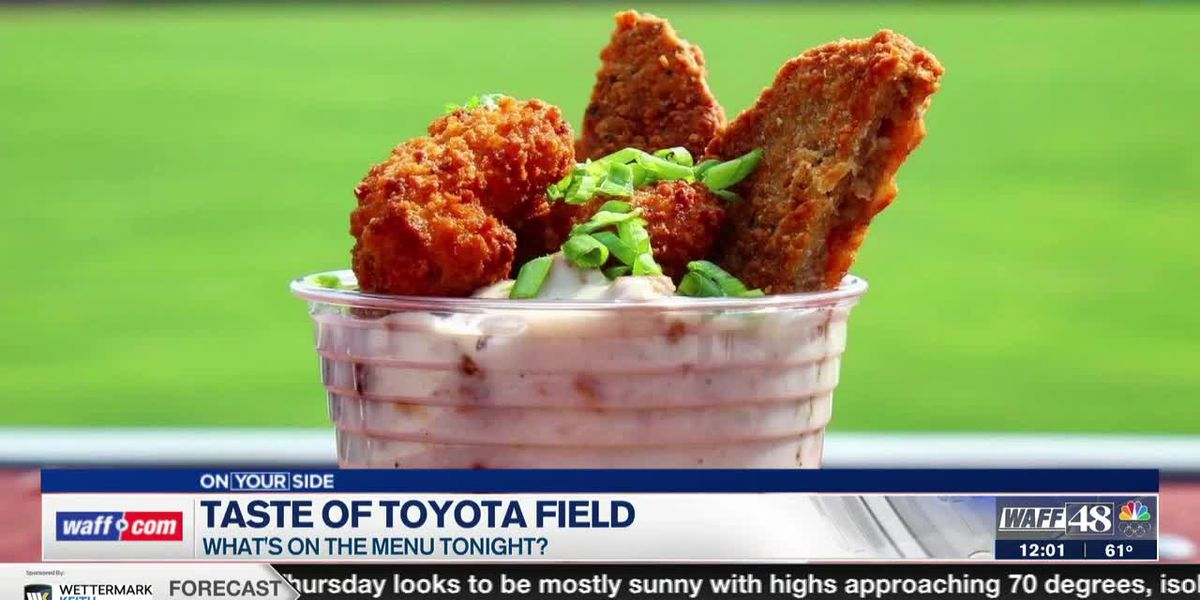 See some of the food options at Toyota Field