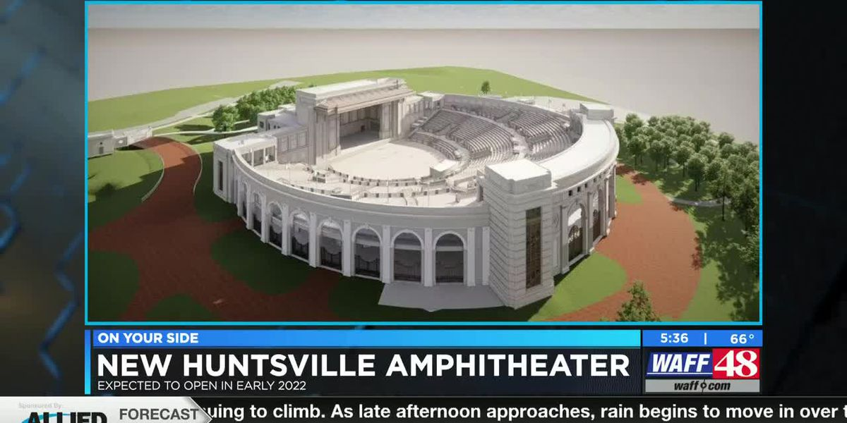 Huntsville City Council approves new amphitheater plan