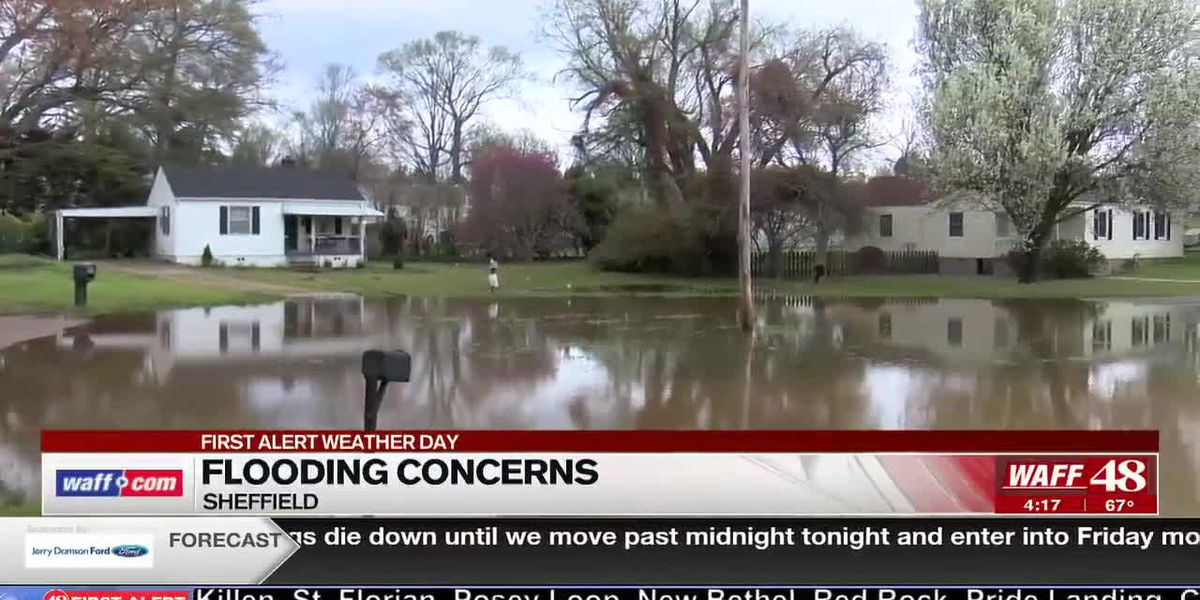 Colbert County EMA continues to address flooding concerns
