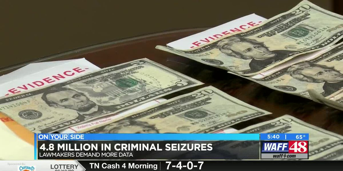 Lawmakers demand more data to justify $4.8 million in criminal seizures