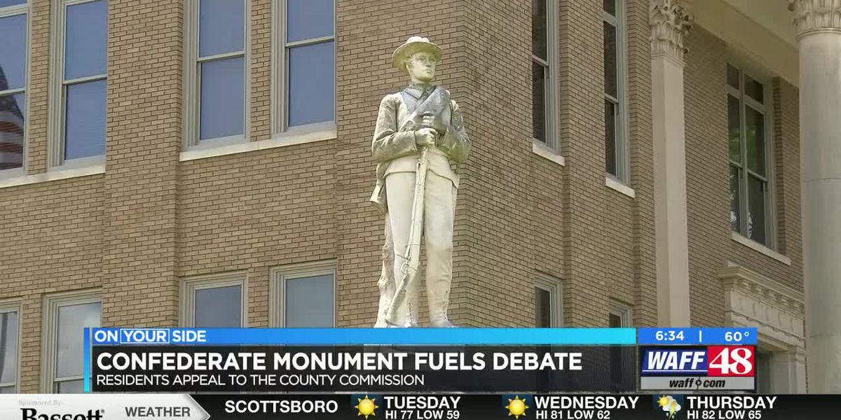 Debate in Limestone County over confederate monument
