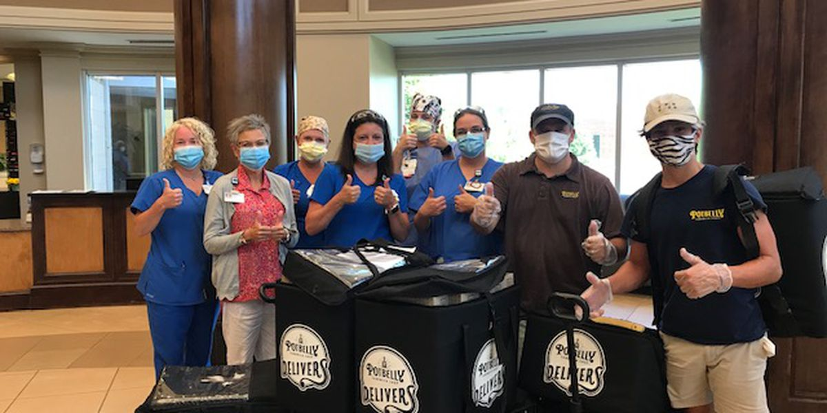 Lizzo feeds DeSoto County hospital employees