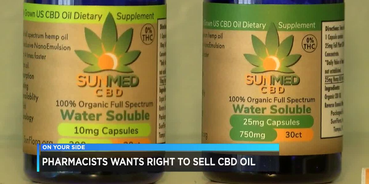 Pharmacists want right to sell CBD oil