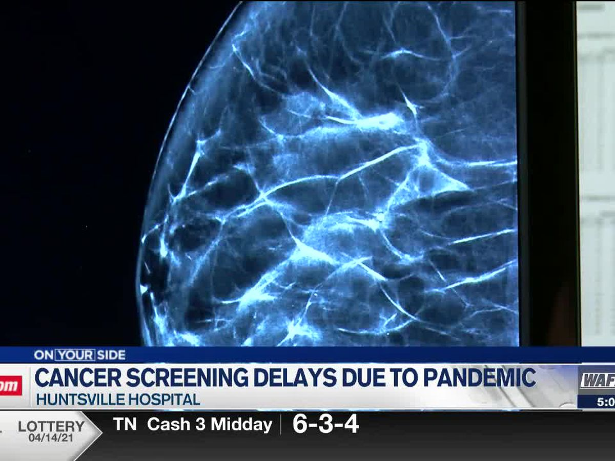 Huntsville Hospital reports decline in breast cancer screenings, colonoscopies amid pandemic