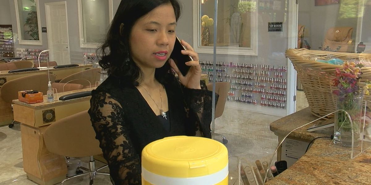 How local nail salons are prepping to reopen on Monday