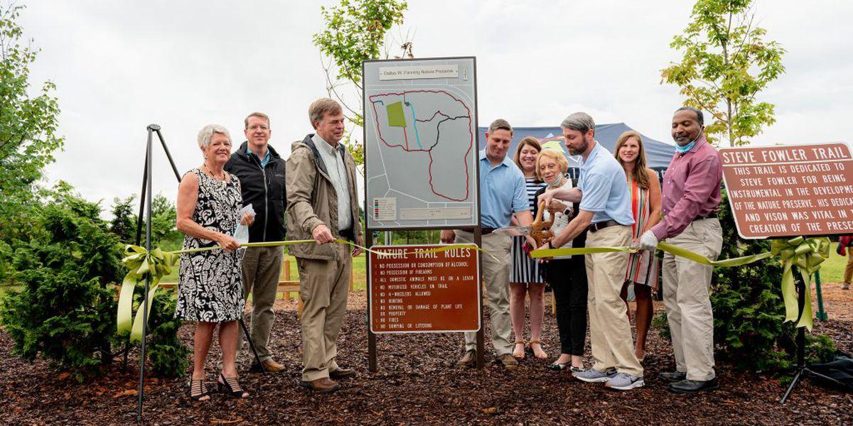 New nature preserve opens in Huntsville
