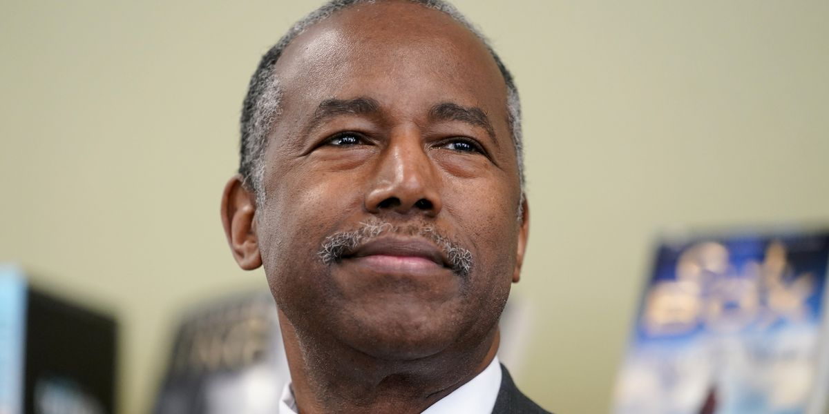 Carson says he's 'out of the woods' after battling COVID-19