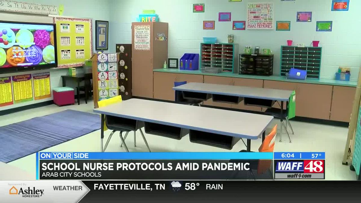 Arab City Schools lead nurse discusses semester protocols and evaluation methods